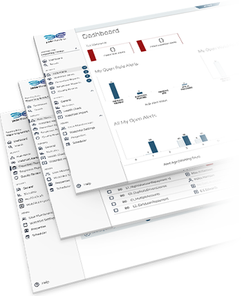 Jade ThirdEye Interface Screenshots